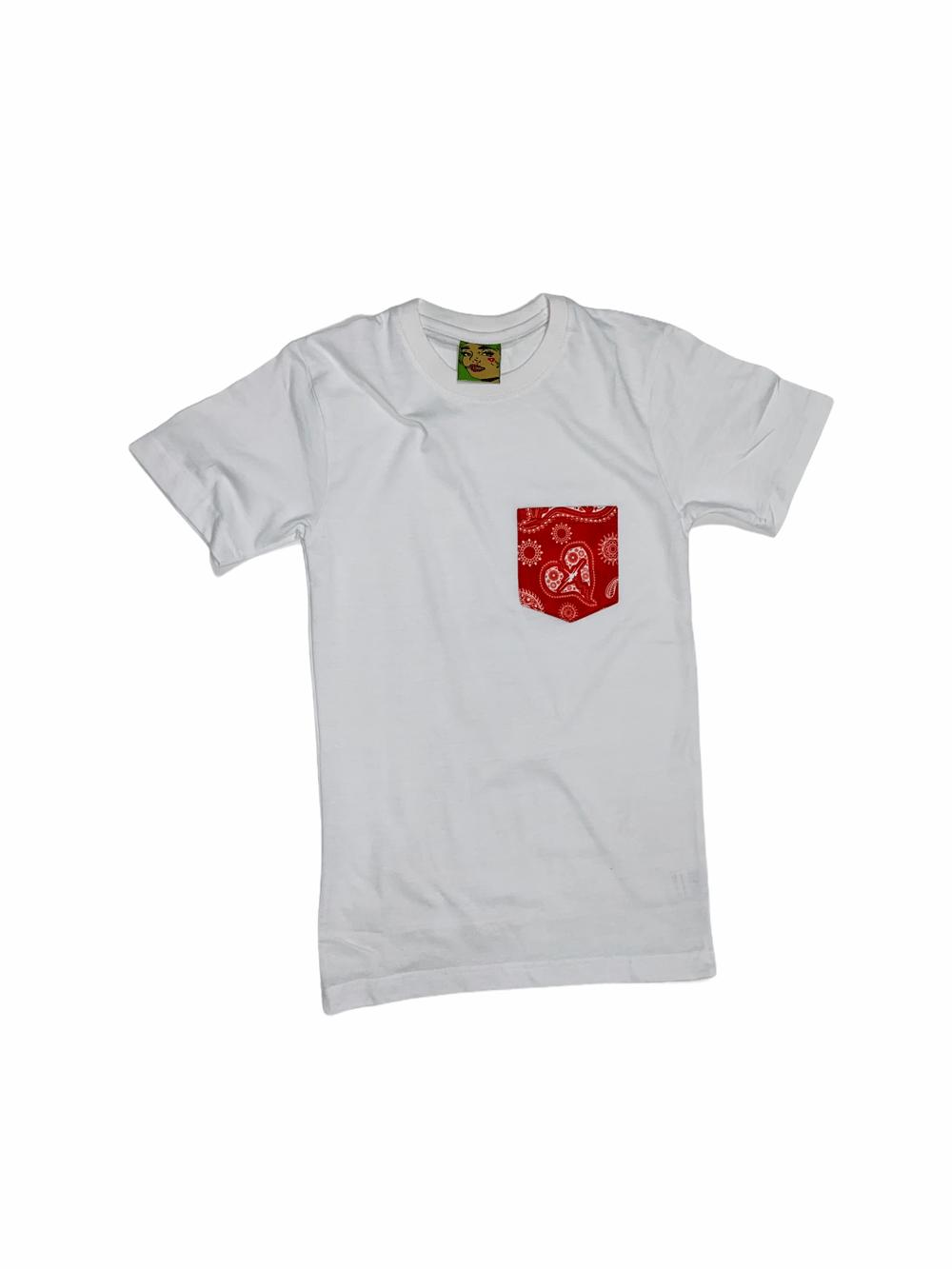 No Feelings Pocket Paisley Tshirts
