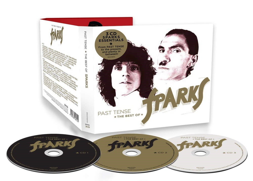 Image of Past Tense: The Best of Sparks 3CD Collection