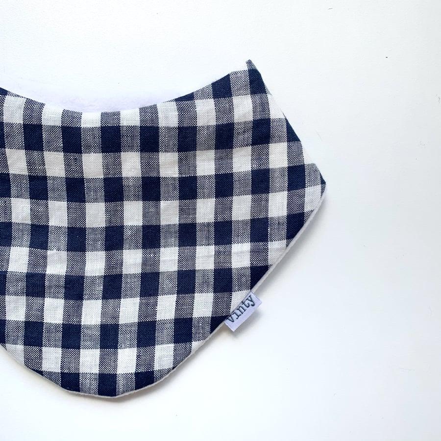 Image of Lovely Linen: Navy Gingham