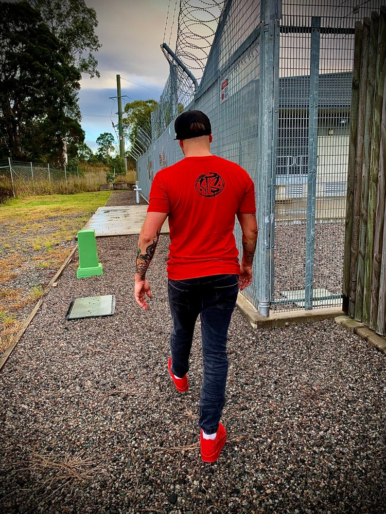 Image of PSYCHO TEE RED