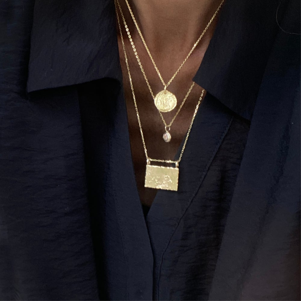 Image of Phaella Necklace / 24K GOLD-COATED SILVER