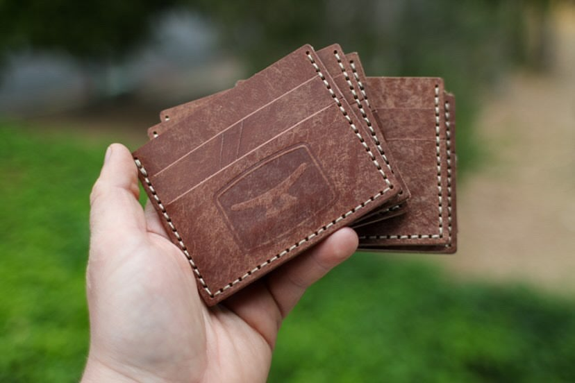 Image of Premium Hand stitched, Leather wallet