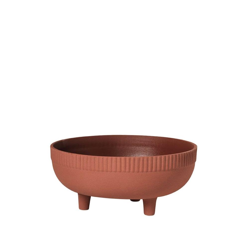 Image of Bowl medium red terracotta by Kristina Dam