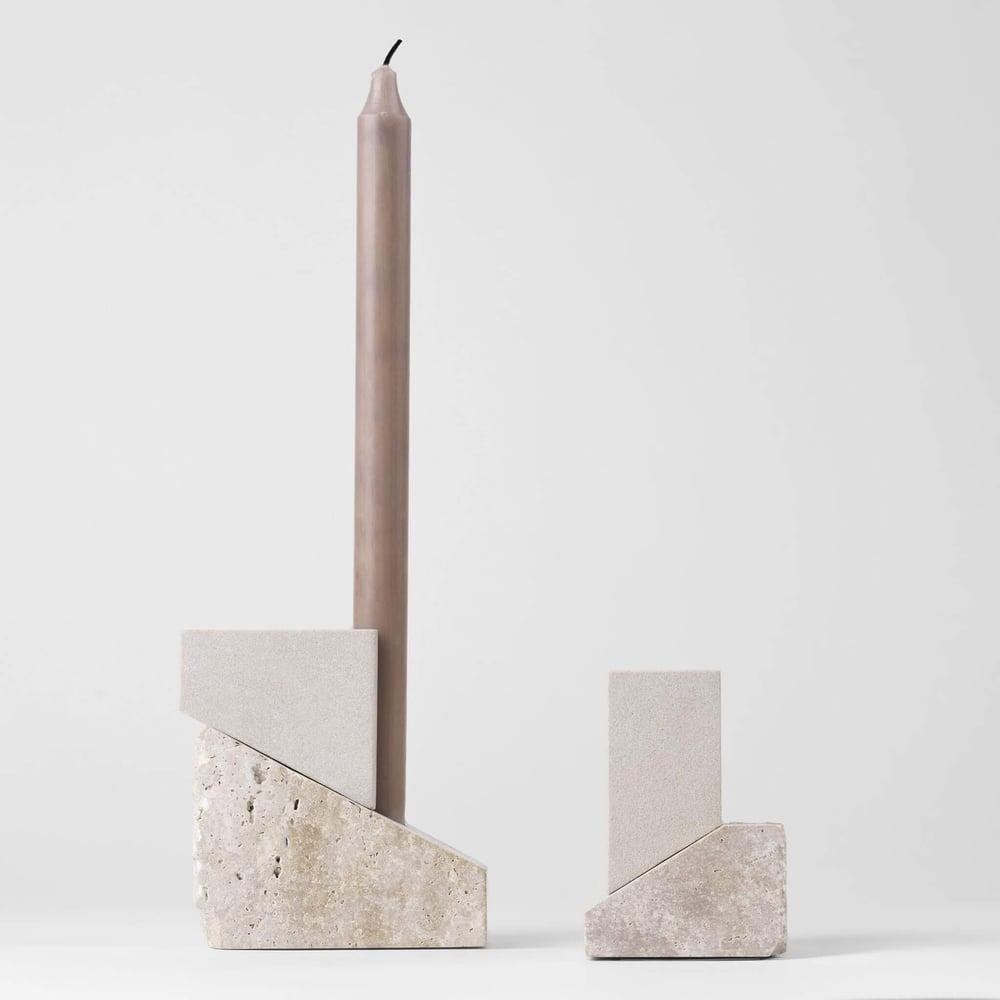 Image of Offset candleholder Vol 1 by Kristina Dam