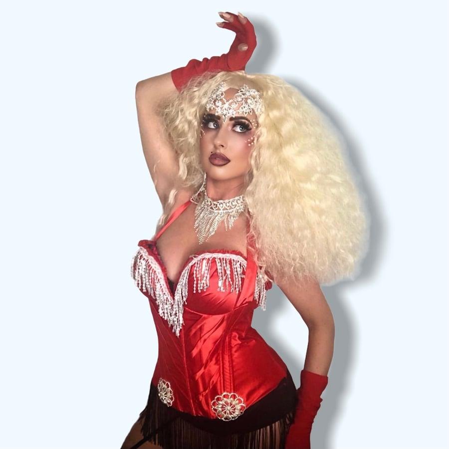 Image of Christina Aguilera Moulin Rouge Lady Marmalade Costume