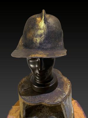 Image of Burnt Gold Helmet