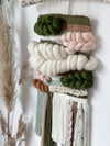 Medium tapestry greens, browns and neutral