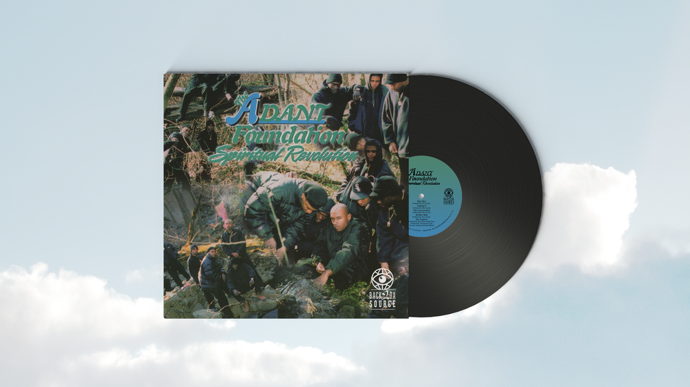 Image of The A.D.A.N.T Foundation - Spiritual Revolution (LP, Album) (SOLD OUT)
