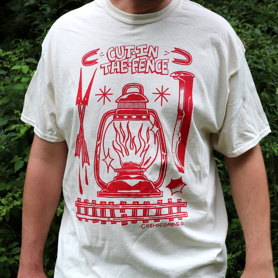 Image of LANTERN SHIRT - COSMIC GRAVE x CUT IN THE FENCE