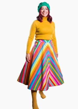 Image of Gloria 'Rainbow' Skirt