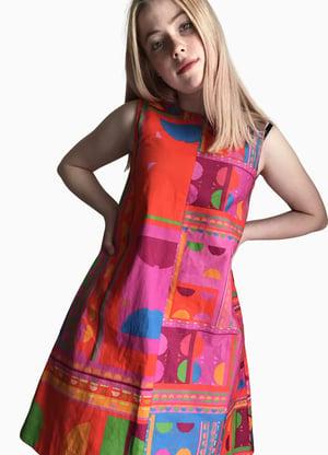 Image of Valleri in the City Dress : Rainbow