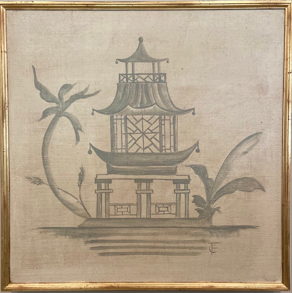 Image of Chinoiserie Panel 2