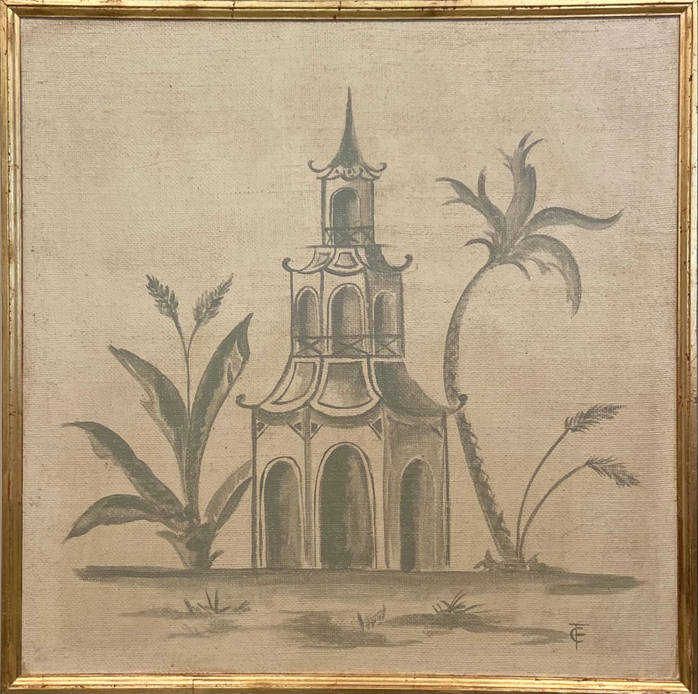 Image of Chinoiserie Panel