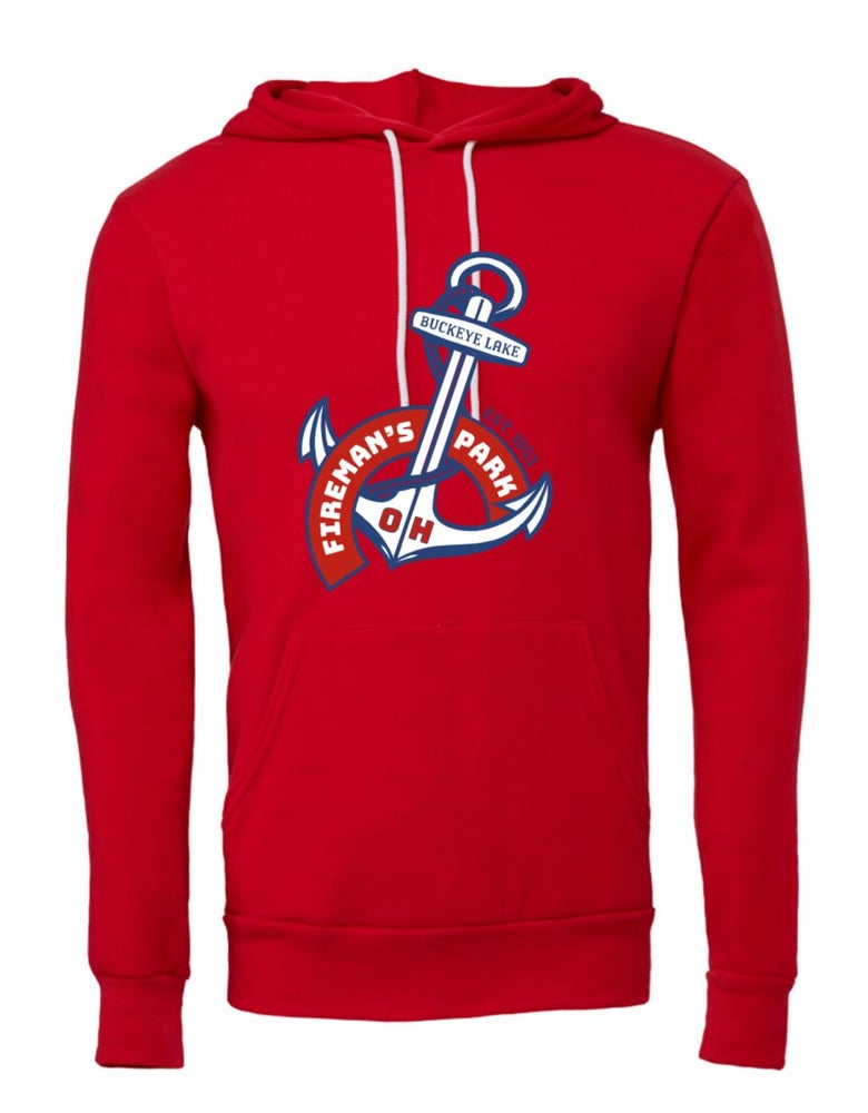 Image of Hooded Sweatshirt Anchor Design