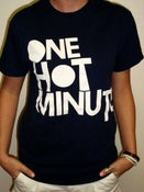 Image of NEW!!! OHM Block Tee (Navy)