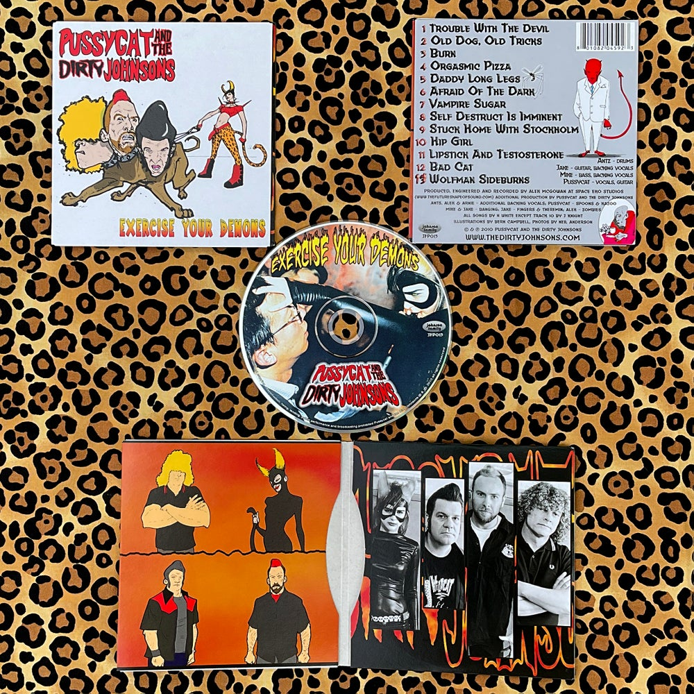 EXERCISE YOUR DEMONS CD LP