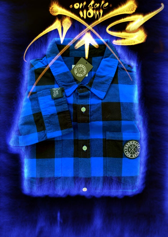 Image of Blue Vts Flanno
