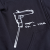 Weapon on a Stick zip up hood