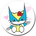 Image of Hello Wolvie Button