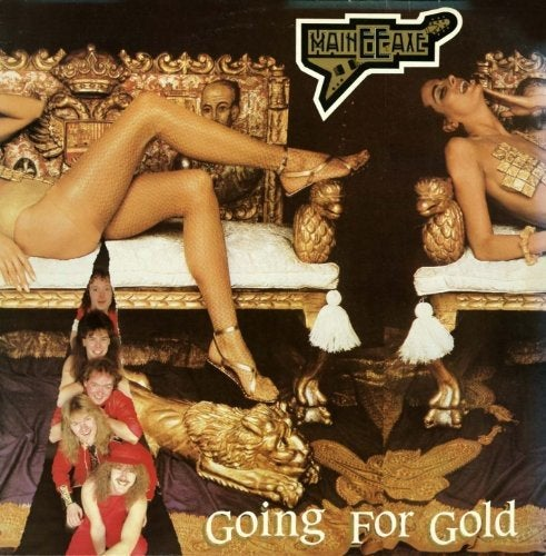 MAINEEAXE - Going For Gold CD Slipcase