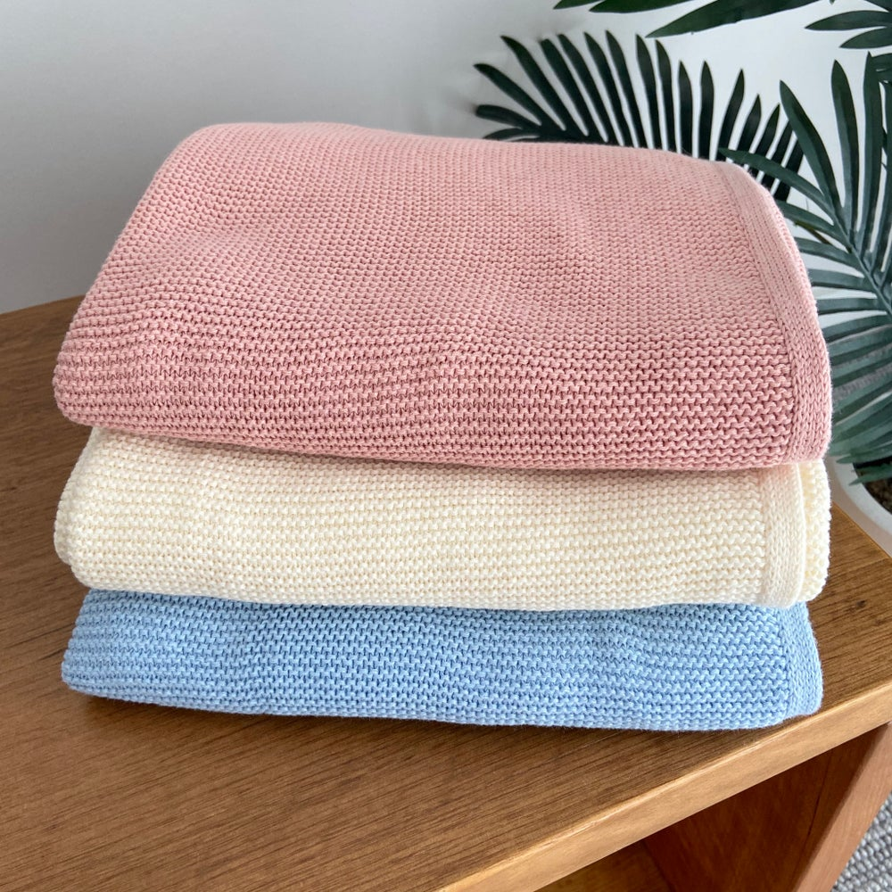 Image of Baby Knitted Blanket