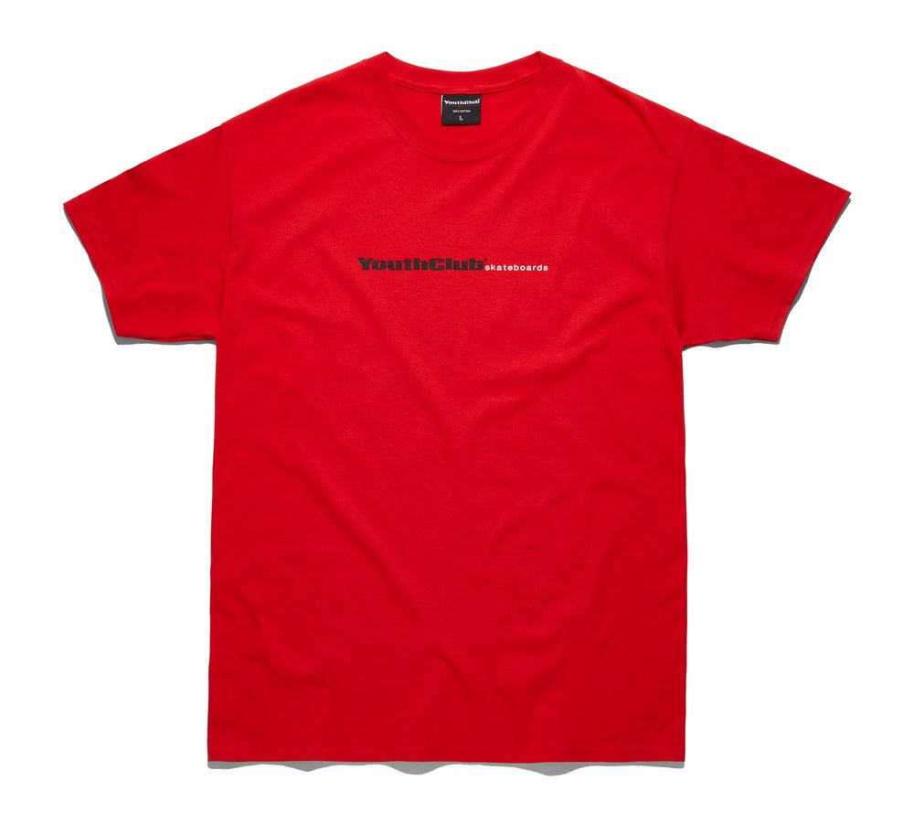 Image of Core Logo Tee / Red