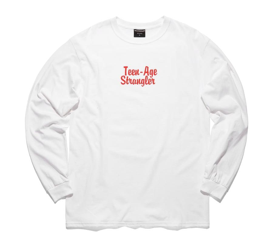 Image of Strangler L/S Tee / White