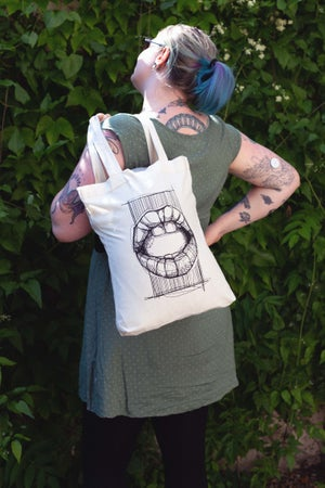 Image of Mouth - Tote Bag