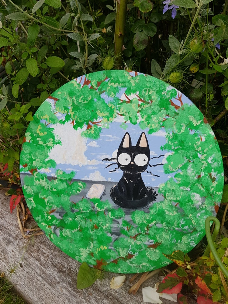 Image of Jiji's Delivery Service Acrylic Painting
