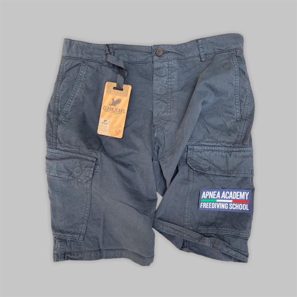 Cargo Shorts TUAREG Apnea Academy Blu Navy