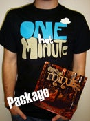 Image of NEW!! CD/BUBBLE STRIPE TEE PACKAGE!!