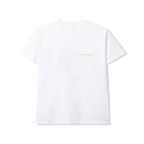 Image of 'ONE WITH NATURE' TEE IN WHITE