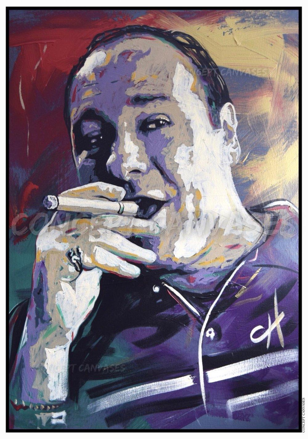 Image of 'Tony' A3 Print