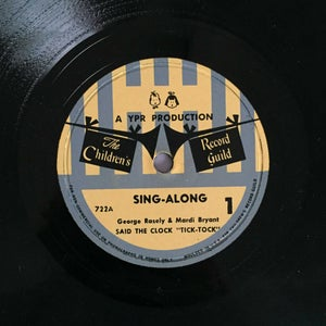 Image of Disque CRG Sing Along