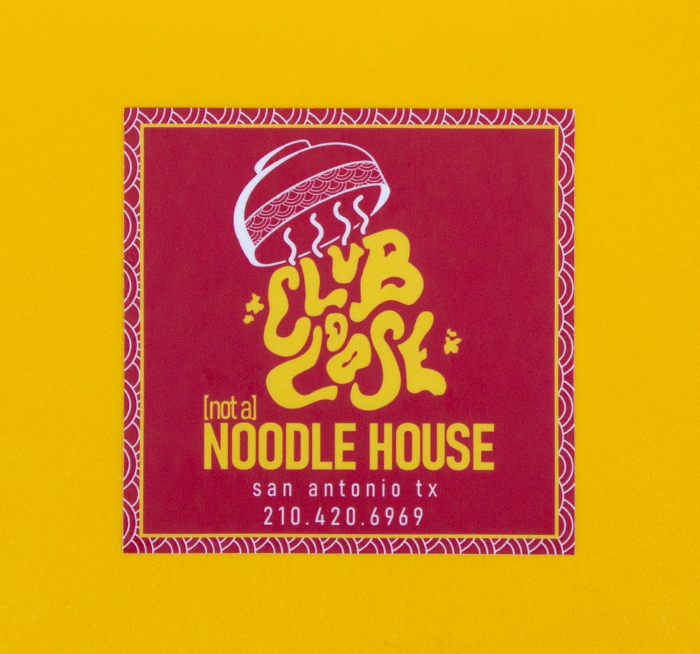 Image of Not a Noodle House Sticker
