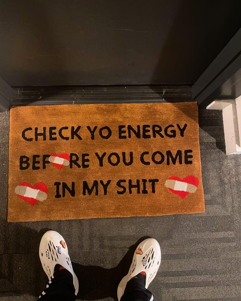 Image of Check your energy Rug