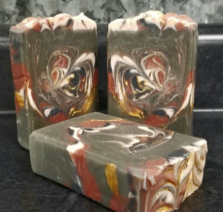 Image of Black Rose & Spice Soap