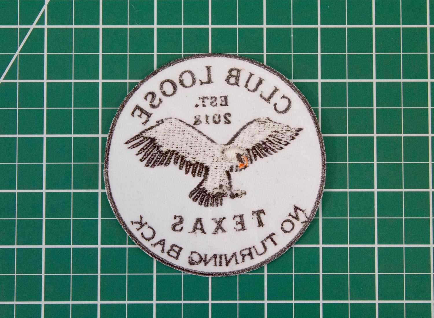 Image of No Turning Back - Patch