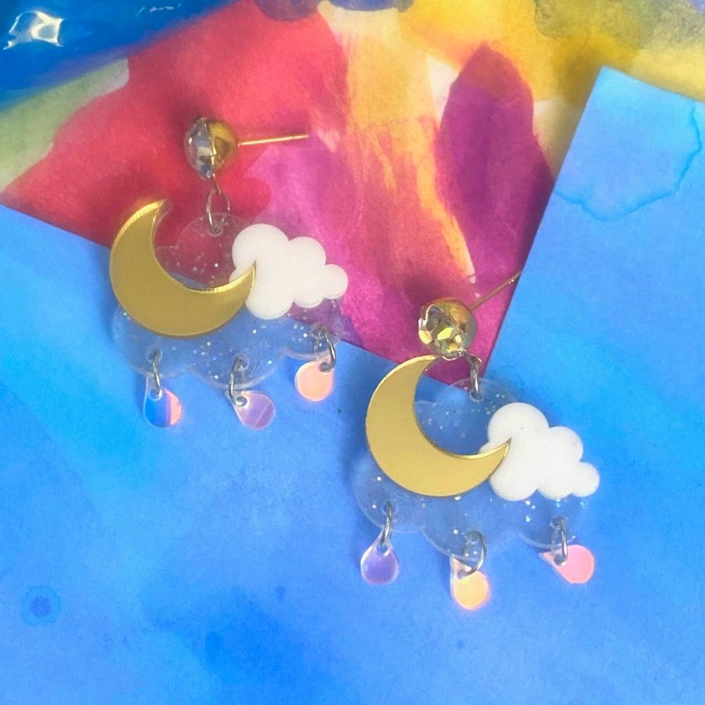 Image of MAGICAL NIGHT EARRINGS