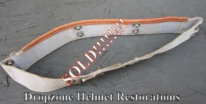 Image of WWII Era Rayon sweatband for M1 Hawley Helmet Liners.  Size 6 1/2