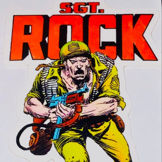 Image of STONER TOYS FROM HELL SGT ROCK STICKER
