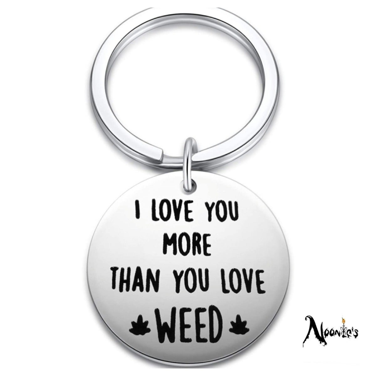 Image of The real love keychain