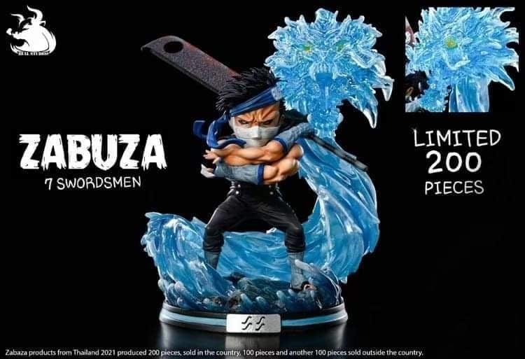 Image of [Pre-Order]Naruto Bull Studio 7 Swordmen Series Vol.1 Zabuza Resin Statue