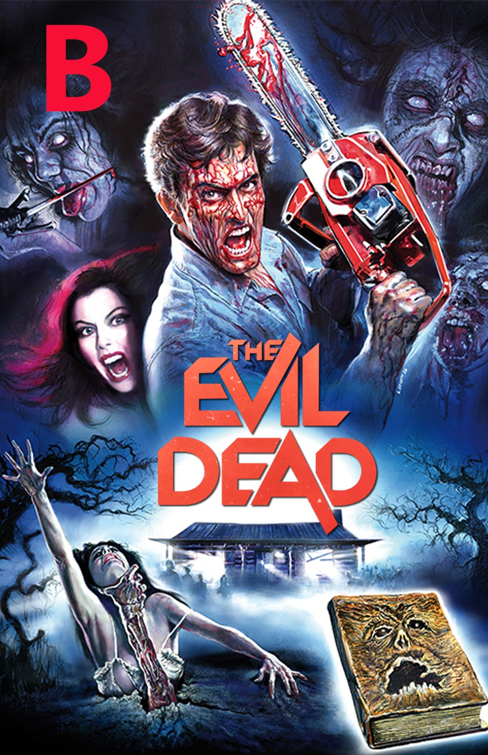 11x17 Quad The Evil Dead Signed Movie Posters Pre-Order