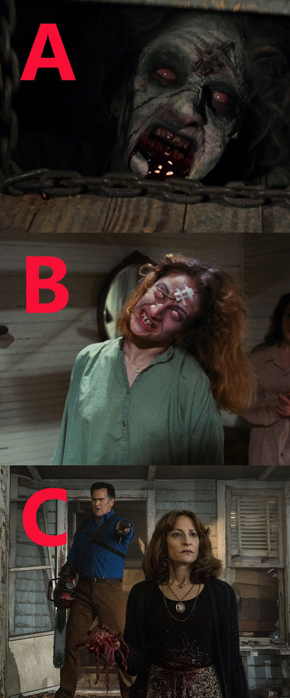 The Evil Dead Solo's and Send-In