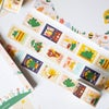Washi tape stamp - Love from Japan