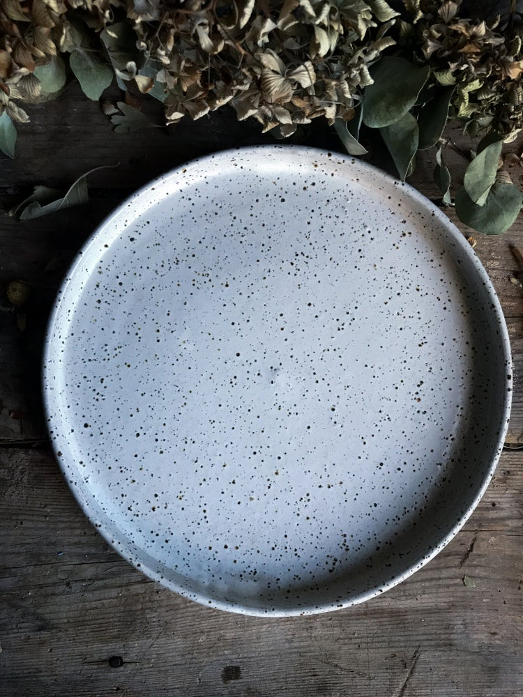 Image of Full Moon Large plate/ serving dish