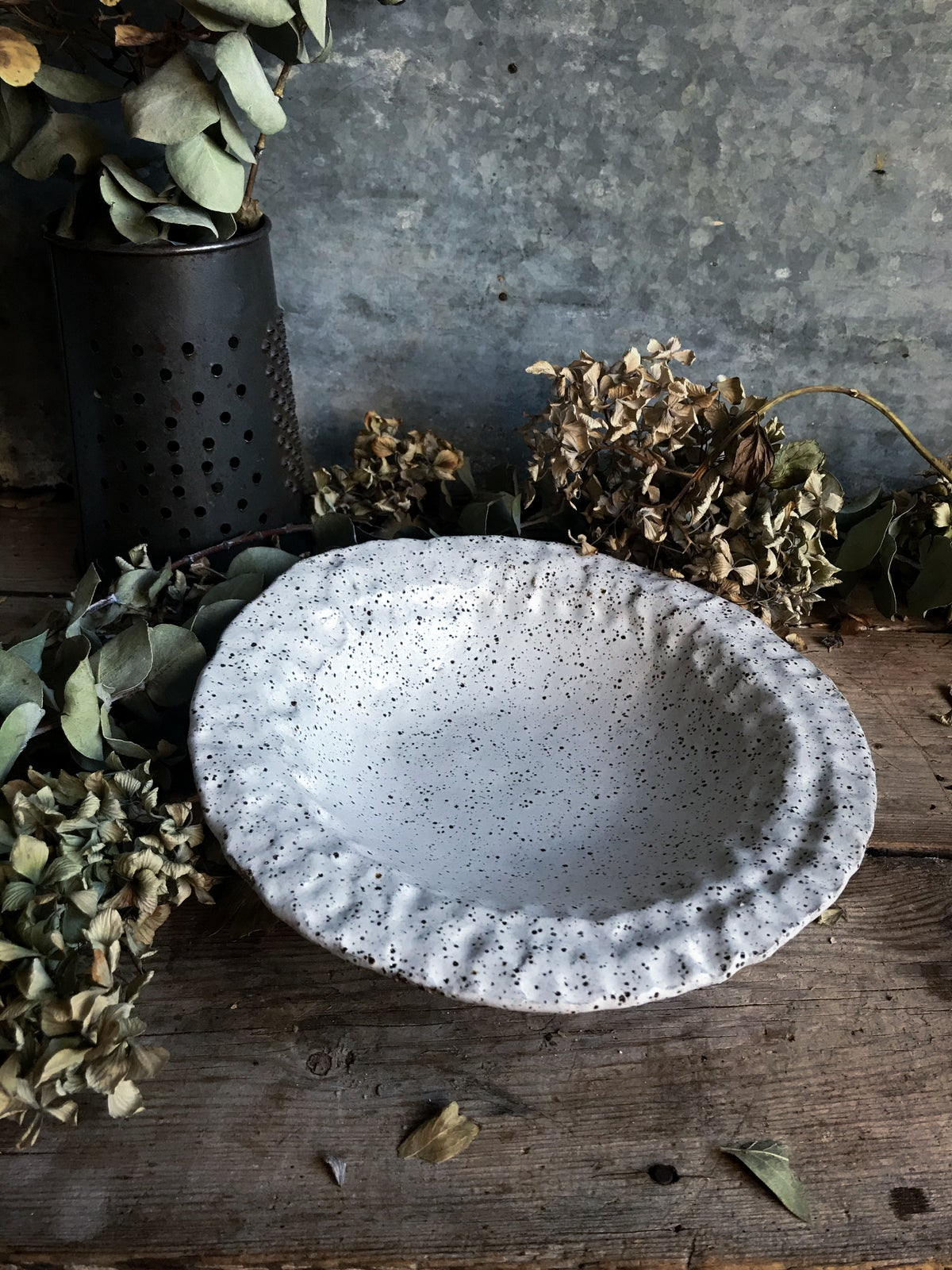 Image of Fingerprint edged bowl #2