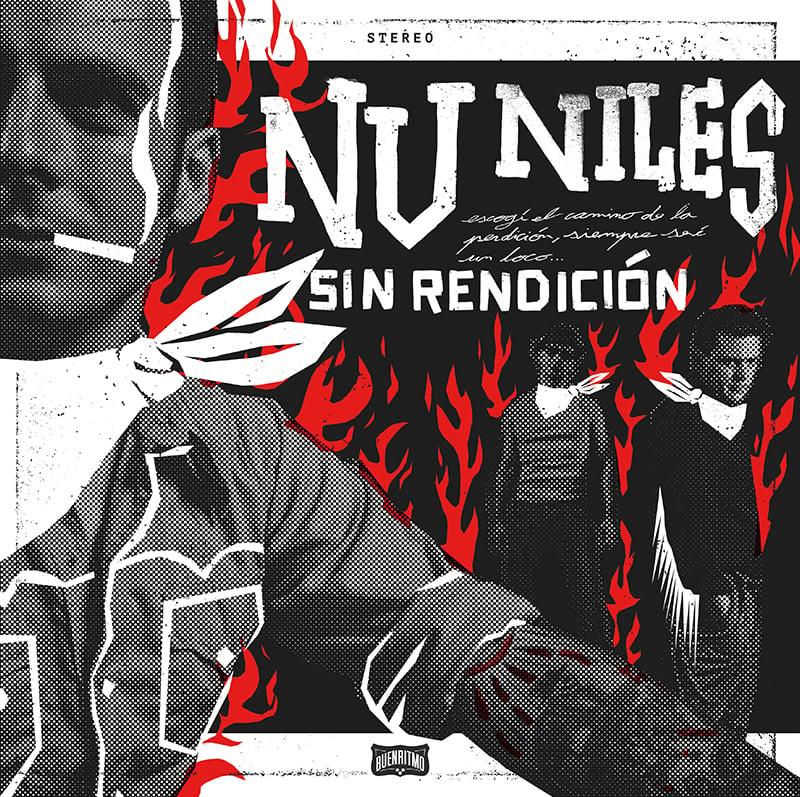 """Nu Niles """"Sin Rendición"""" - Reedición en vinilo rojo (Record Store Day 2021)"""