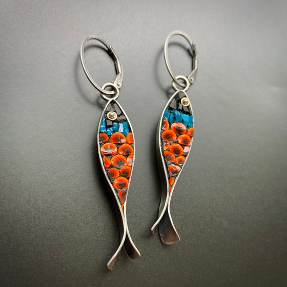 Image of Poppy Fish Earrings